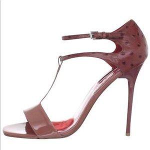 Brand new Charles Jourdan Mia Heels in Mauve Pink